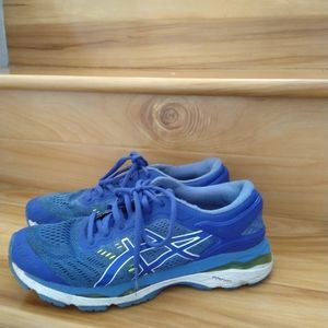 Asics blue gel women's shoes size 8